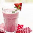 Stock Photo: Strawberry shake
