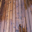 Stock Photo: Wet wooden deck