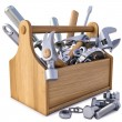 Stock Photo: Toolbox