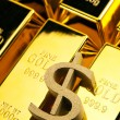Gold bars - Stock Photo