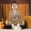 Buddha, zen and relax - Stock Photo