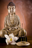 Buddha, zen and relax — Stock Photo