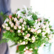 Beautiful wedding bouquet of roses — Foto Stock