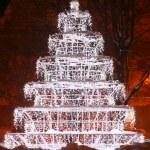 Christmas tree in the night — Stock Photo #8166692