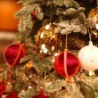 Foto Stock: Beautiful Christmas tree