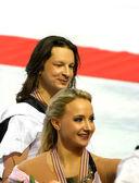 Maxim Shabalin and Oksana Domnina (Russia) — Stock Photo