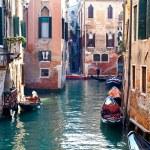 Venetian canal, Italy — Stock Photo #9253939