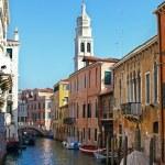 Venetian canal, Italy — Stock Photo #9253950
