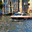 Stock Photo: Carabinieri on Grand Canal, Venice