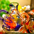 Colorful venetian souvenir from glass — Stock Photo #9377086