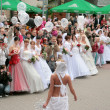 Brides parade 2010 - Stock Photo