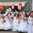 Brides parade 2010 — Stock Photo #9485266