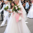 Brides parade 2010 — Stock Photo #9485425