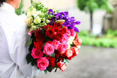 Colorido ramo de rosas — Foto de Stock