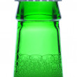 Macro Shot of Green Beer Bottle Neck — Stock Photo #9287301