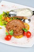 Carne de bovino bife — Foto Stock