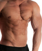 Bodybuilder — 图库照片