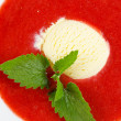 Strawberry soup — Stock Photo