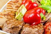 Carne di barbecue — Foto Stock