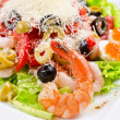 Royalty-Free Stock Photo: Tasty seafood salad