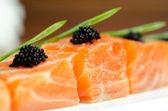 Salmon Slices — Stock Photo