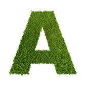 绿草的信 — 图库照片