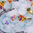 Stock Photo: Jewels at ice