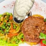Beef steak meat — Stock Photo