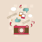 Take a photo! — Stock Vector