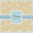 Royalty-Free Stock Vektorgrafik: Vintage design with leafs