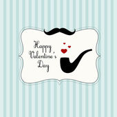Valentine Day card — Vector de stock