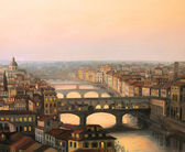Florence Ponte Vecchio — Stock Photo