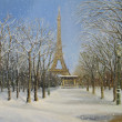 Stock Photo: Winter in Paris