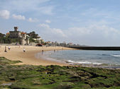Estoril Beach view — Stock Photo