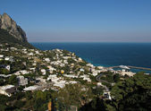 Capri view of Marina Grande — Stock Photo