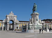 Lisbon Commerce Square — Stock Photo