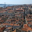 Foto Stock: Lisbon Panoramic View