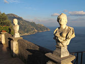 Terrace of Infinity in Ravello on Amalfi Coast — Stock Photo