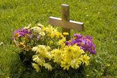 New grave — Stock Photo