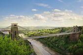 Clifton Suspension Bridge. — Stock Photo