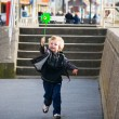Child on the promenade — Stock Photo