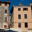 Stock Photo: Rovinj old town exteriors