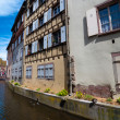 Colmar waterside medieval houses — стоковое фото #10456900