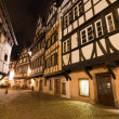 Stock Photo: LPetite France district at night, Strasbourg