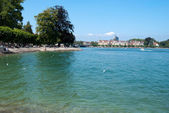 Transparent water of Boden Lake in Constance — Stock Photo
