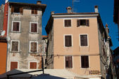 Rovinj old town exteriors — Stock Photo