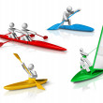 Sports symbols icons series 3 — Stock Photo