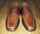 Brown Shoes — Stock Photo