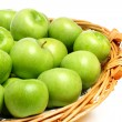 Stock Photo: Granny Smith apples