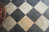 Tile Floor Inside of The Cape Hatteras Lighthouse — 图库照片